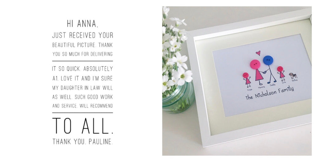 Customer Comments - Pauline