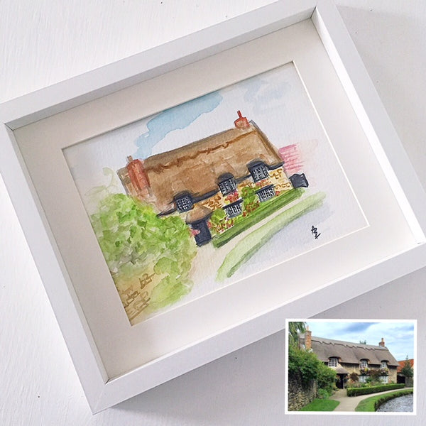 Personalised House Portrait