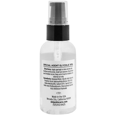 Acne Medication - Special Agent Glycolic 10%