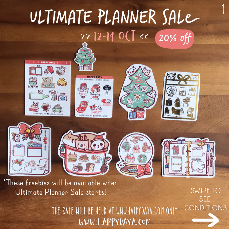 (Unavailable) Ultimate Planner Sale freebies (Fall18)