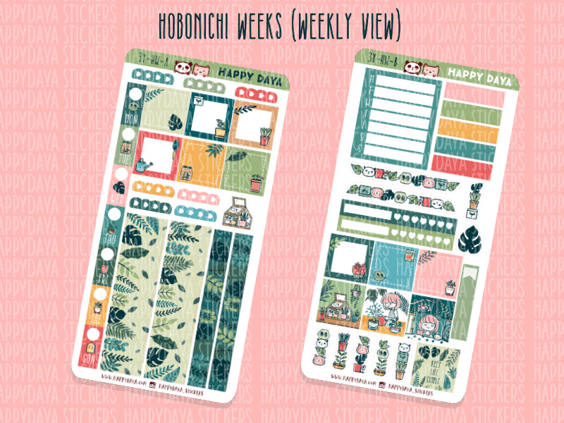 3 YEAR BUNDLE: Hobonichi Weeks kit (weekly view and monthly view)
