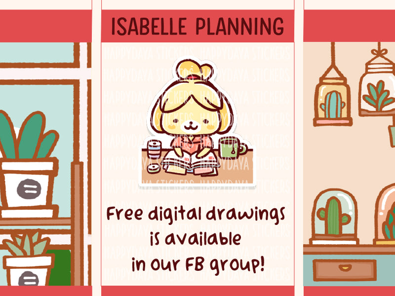 FD006: Isabelle planning (Animal Crossing)