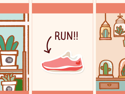 FI010: Runner shoes