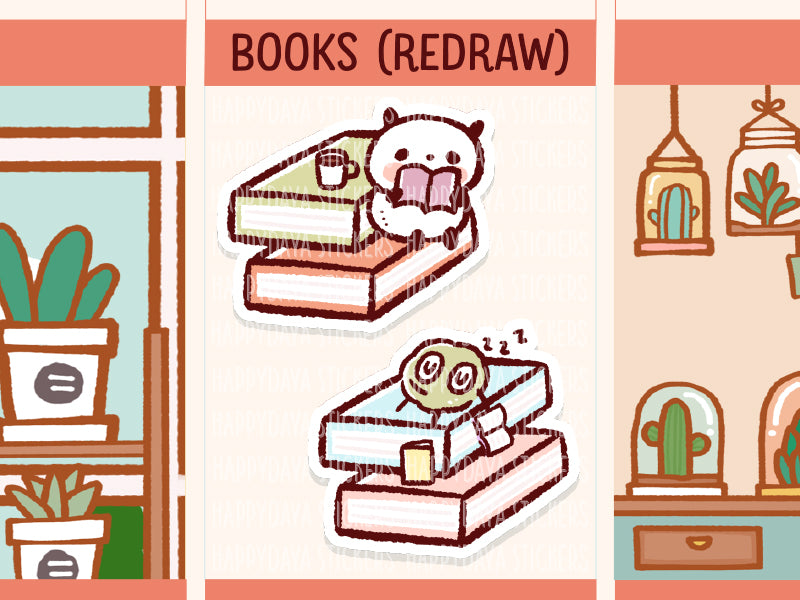 FI019*: Books (redraw)