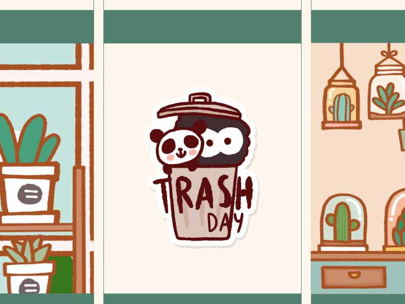 FI035: Trash day