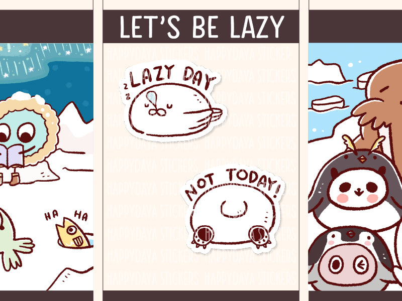 FI109: Arctic animals lazy day and not today