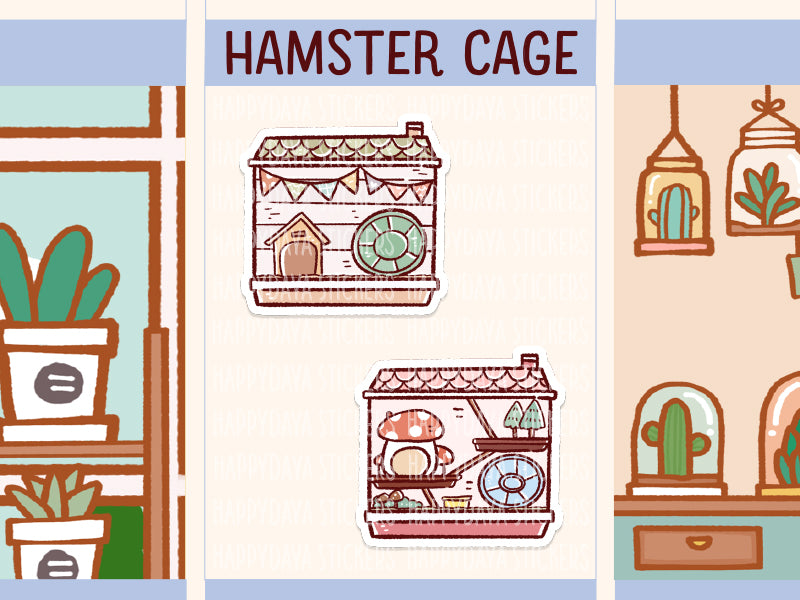 FI113: Hamster cage