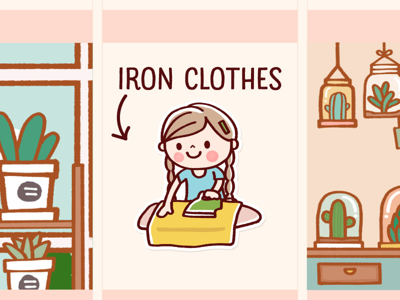 HANA006: Iron clothes