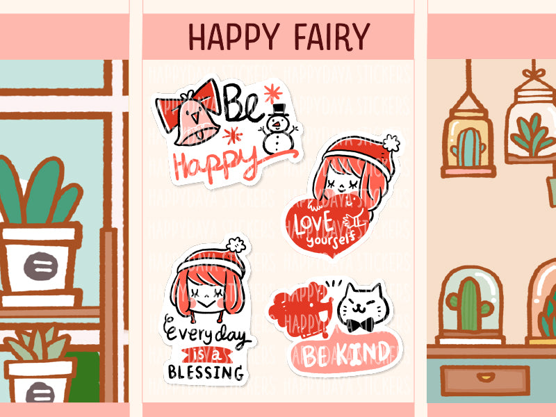 HAPPY003: Happy Fairy - Fall 2018