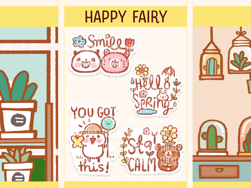 HAPPY014: Happy Fairy - Picnic