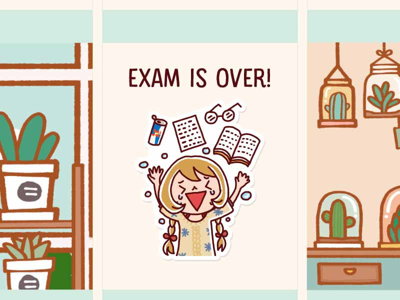 HF045: Exam is over!