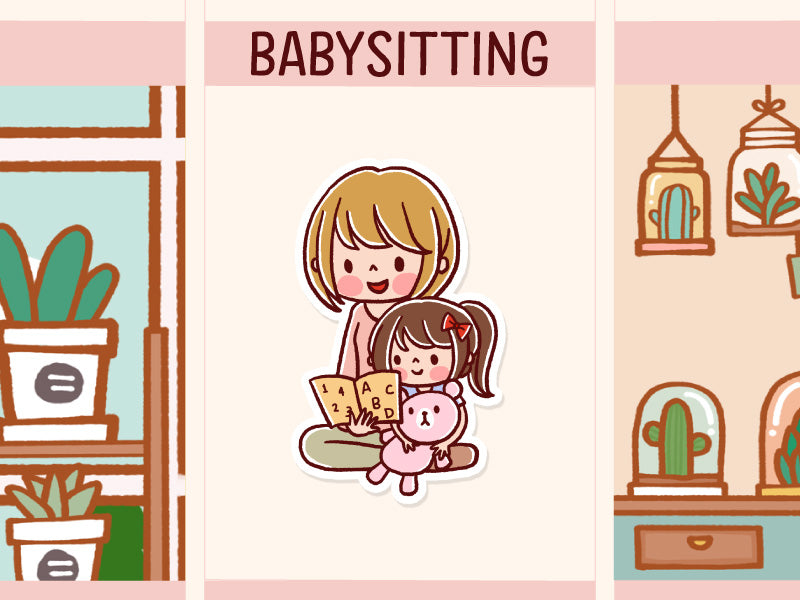 HF115G: Babysitting (Girl)