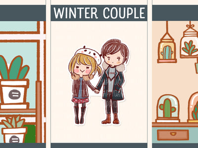HF172: Winter couple