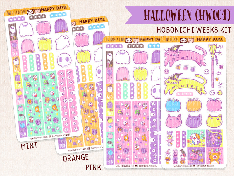 "Hobonichi Weeks ""Halloween"" kit"