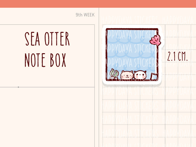 HWF047: Sea otter box