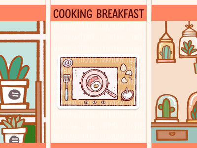 IN014: Cooking time (breakfast) flat lays