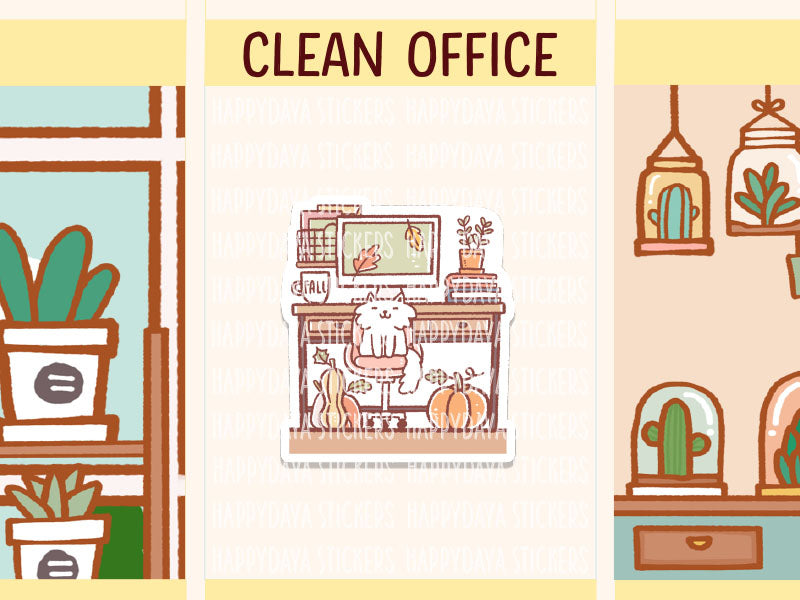 IN017: Fall - Clean office