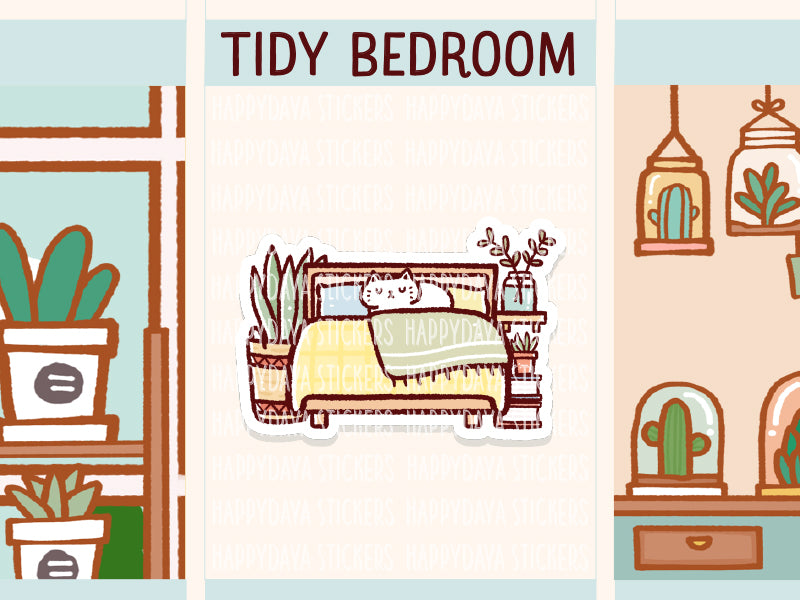 IN019: Tidy bedroom