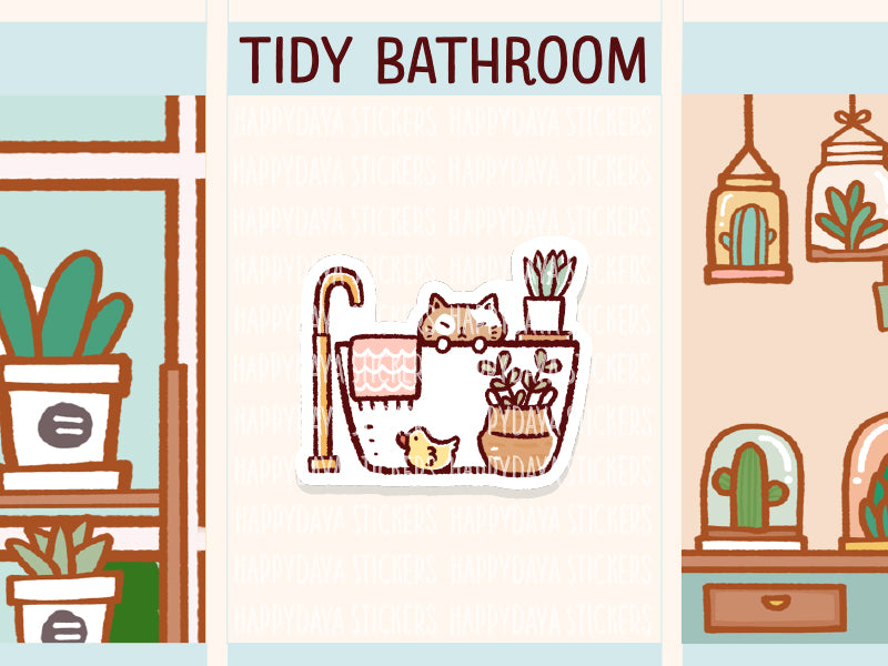 IN022: Tidy bathroom