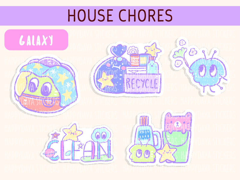 KIT002 (Galaxy) : House chores (sheet 7)