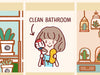LOLA018: Clean bathroom