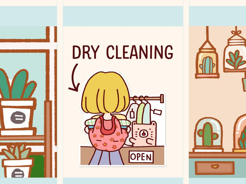 LOLA032: Dry cleaning