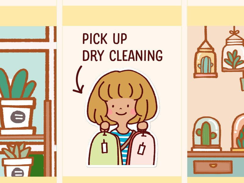 LOLA033: Pick up dry cleaning
