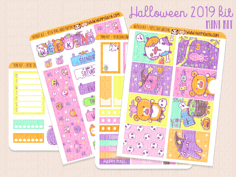 Mini kit 013: Halloween kit 2019 (Mini kit)