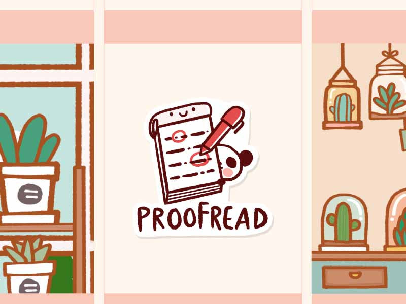 MS036: Proofread
