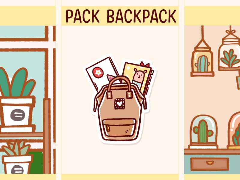 MS037: Pack backpack
