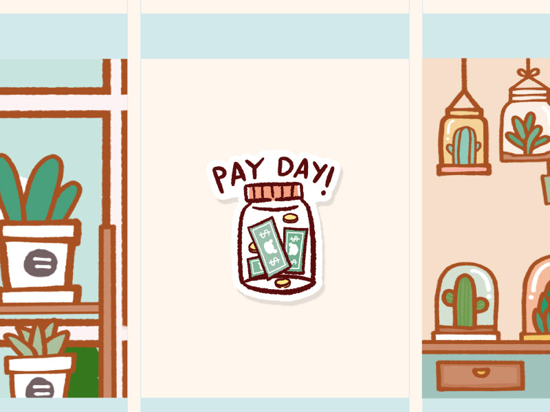 MS061: Pay day (glass bottle)