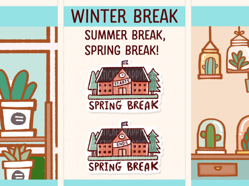 MS069: School break (winter break, spring break and summer break)