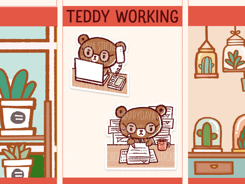 MS081: Teddy - Working hard