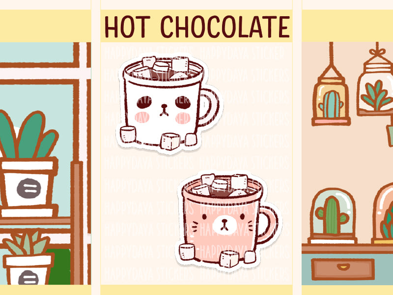 PD028: Hot chocolate (redraw)