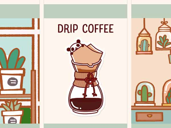 PD041: Drip coffee