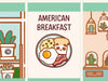 PD048: American breakfast