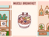 PD073: Muesli breakfast