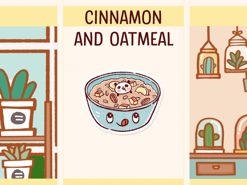 PD086: Cinnamon and oatmeal