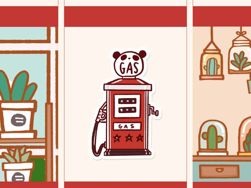 PM010: Gas station
