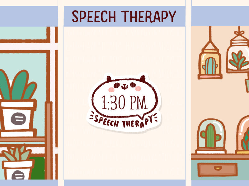PM032: Speech therapy