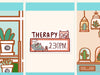 PM037: Therapy appointment sticker