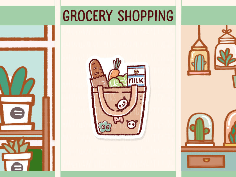 PM039: Grocery bag, grocery shopping