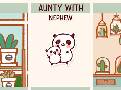 PM041: Aunty and nephew
