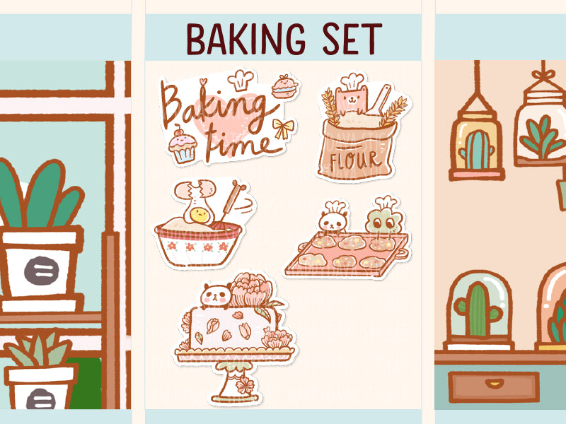 PM047: Baking set