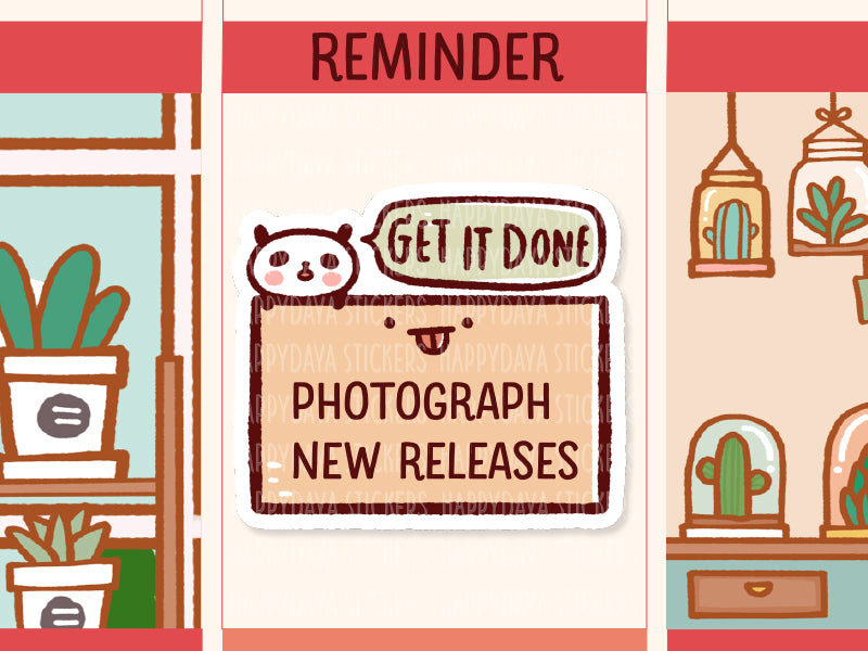 PM050: Reminder box stickers