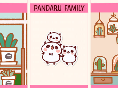 PM052: Panda family (1 child)