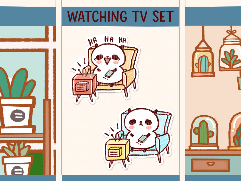 PM055: Watching TV set
