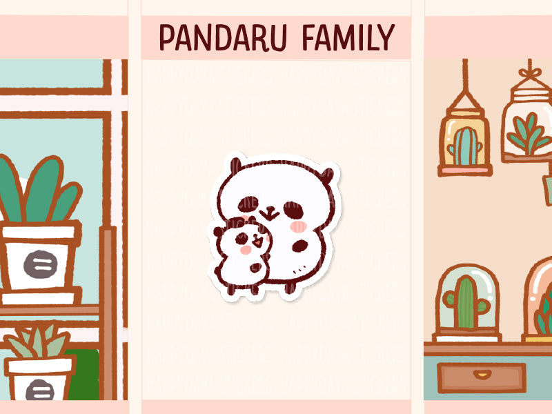 PM056: Pandaru family (Super mom with a child)