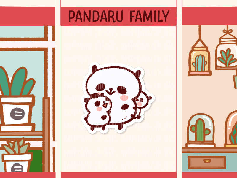 PM057: Pandaru family (Super mom with 2 children)