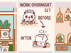 PM058: Work overnight set